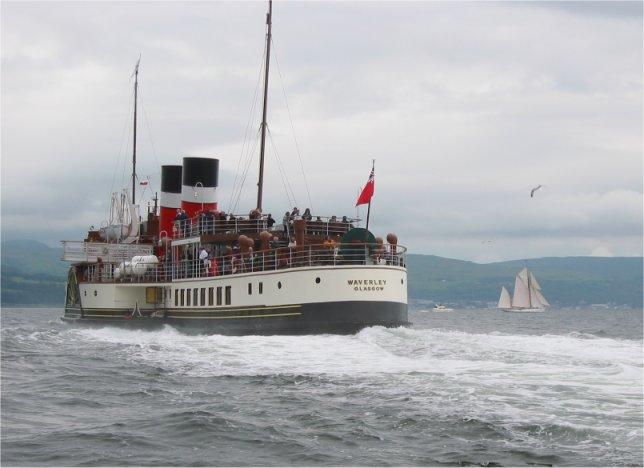 Waverley passes Kentra